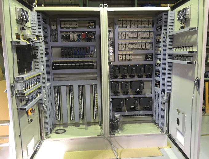 ガスプラント制御盤