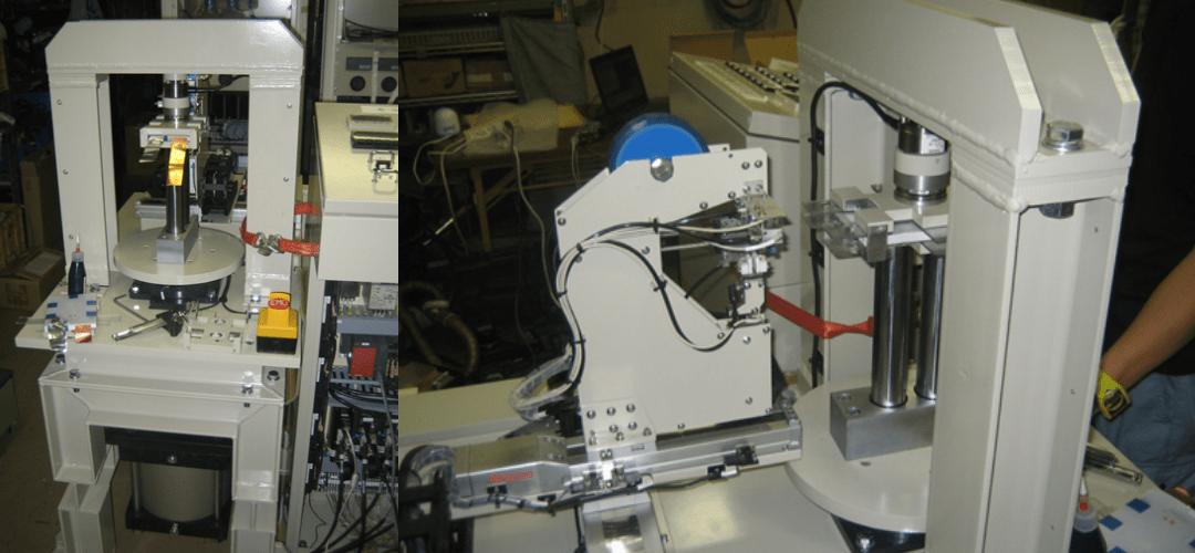 コア圧縮固縛装置