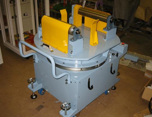 可動式ドラム回転装置